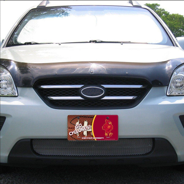 Iowa State University - License Plate - Football Design