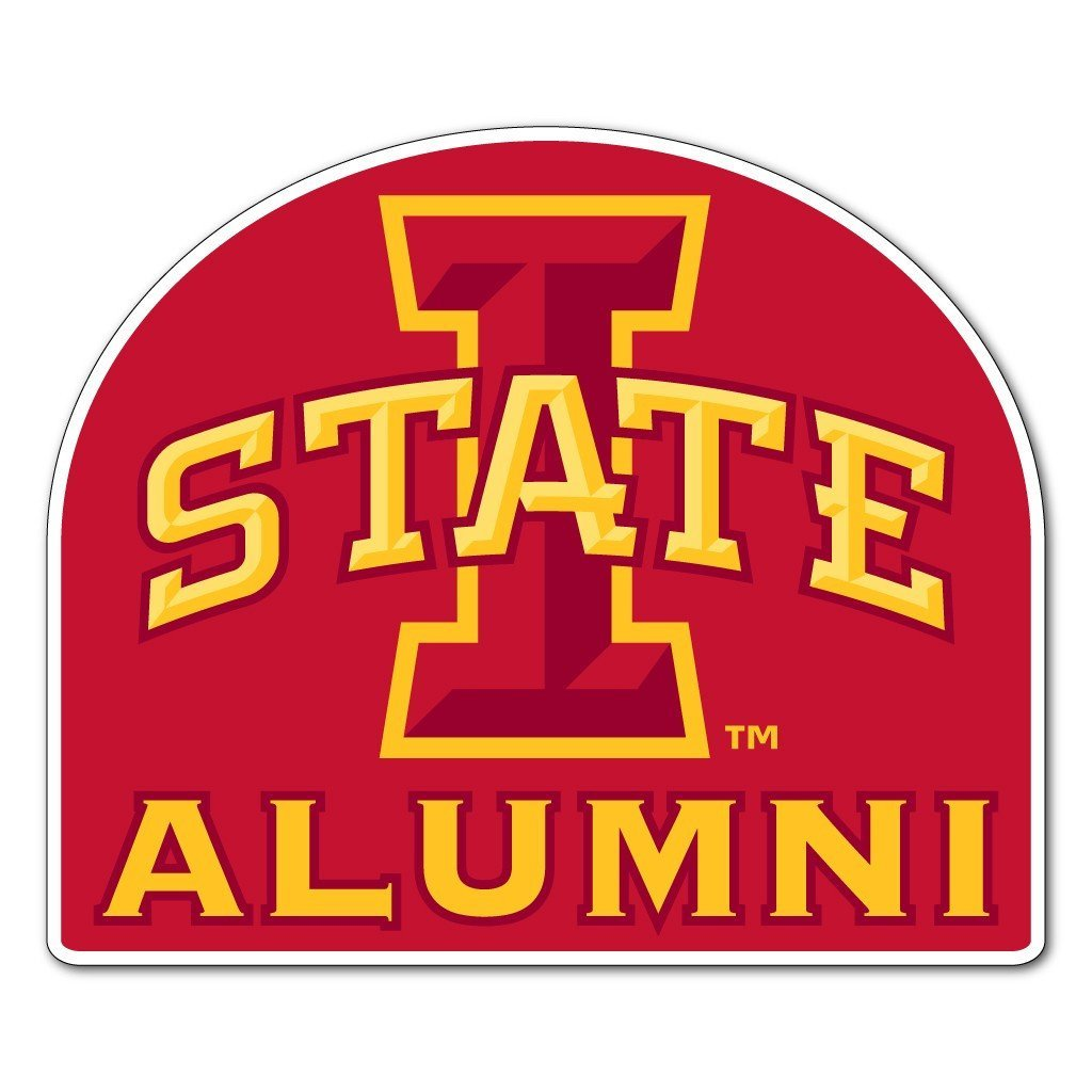 Iowa State - Alumni Shaped Magnet