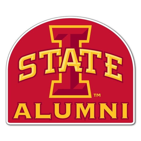 "Iowa State "" Alumni Shaped Magnet"