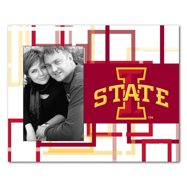 "Iowa State University Picture Frame "" Squares Design"