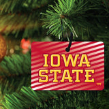 Iowa State University Ornament - Set of 3 Rectangle Shapes