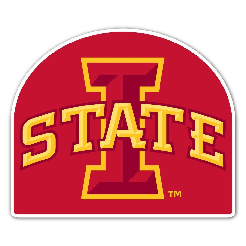 Iowa State University Dome Shaped Plastic Yard Sign - FREE SHIPPING