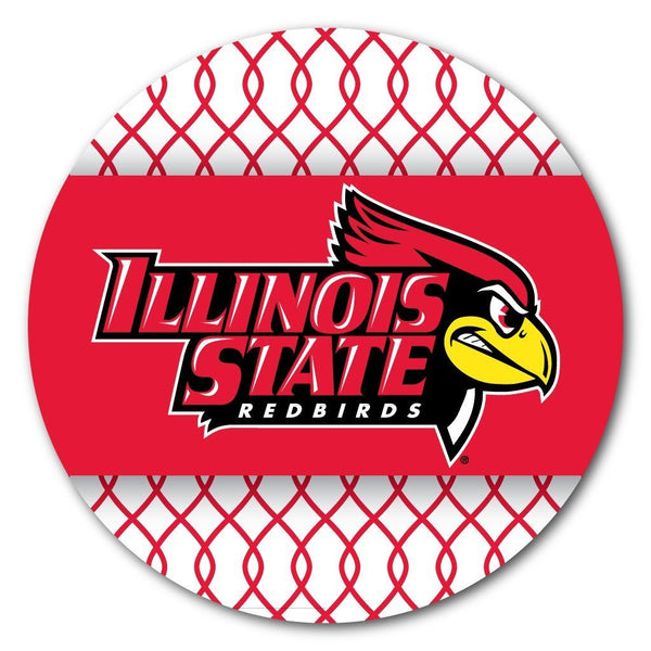 Illinois State University Pattern Design Coaster Set of 4