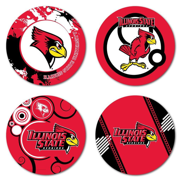 Illinois State University Fun Designs Coaster Set of 4