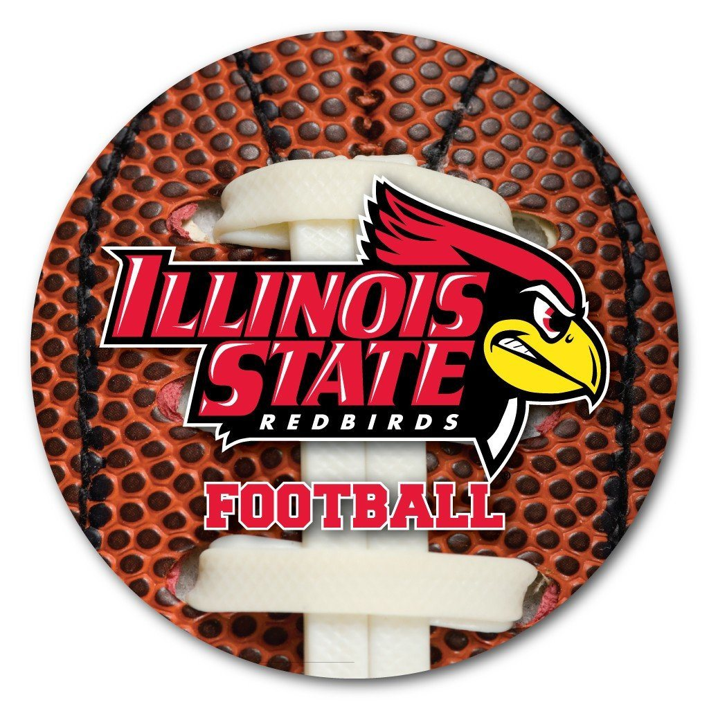 Illinois State University Football Coaster Set of 4 - FREE SHIPPING