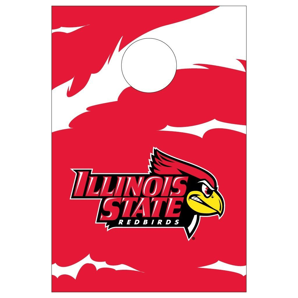 Illinois State Bag Toss Game (Design 1)
