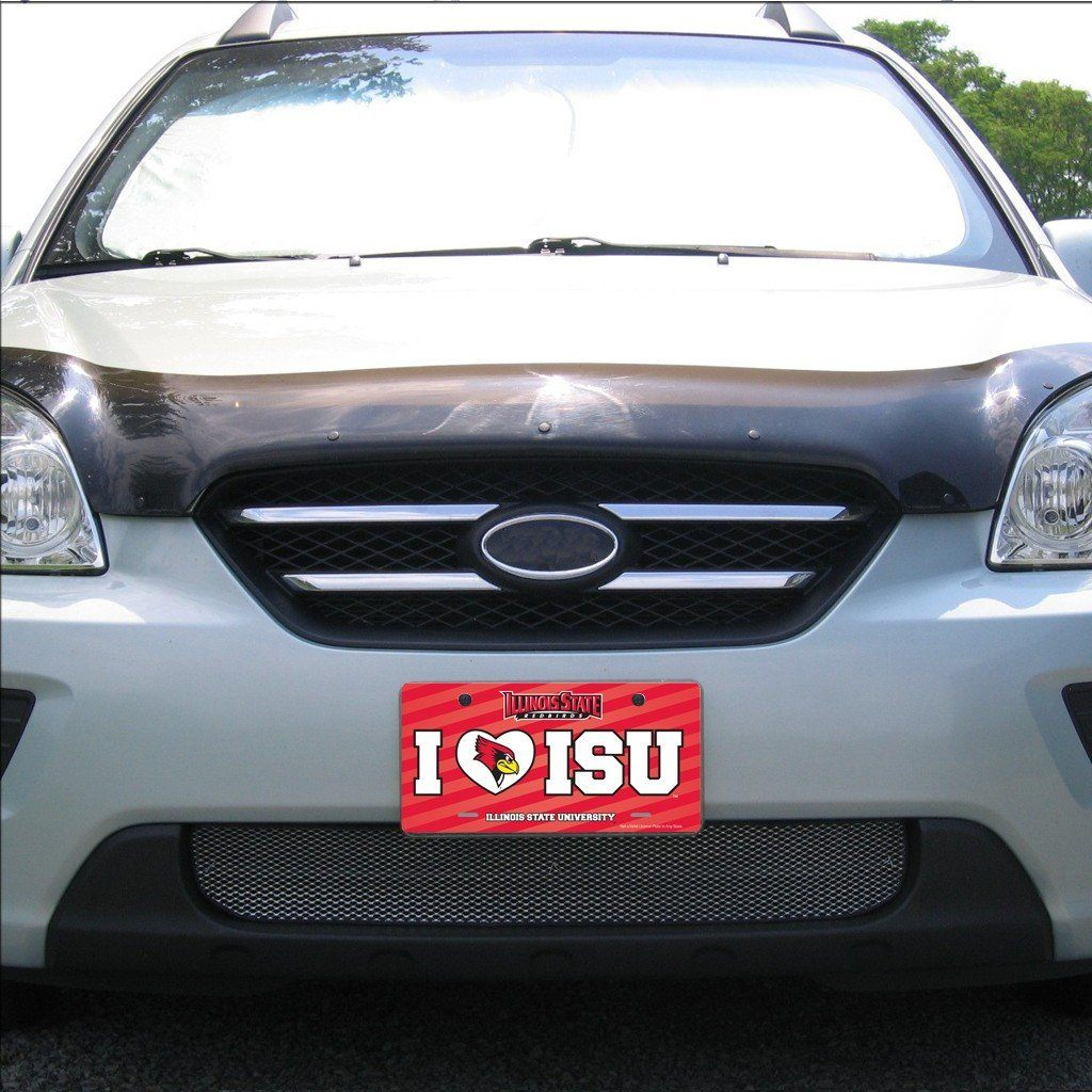 Illinois State University œI Love ISU License Plate