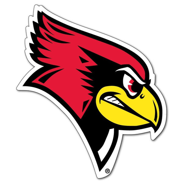 "Illinois State "" Redbirds Shaped Magnet"