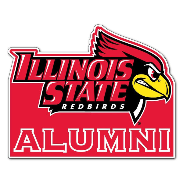 "Illinois State "" Alumni Shaped Magnet"