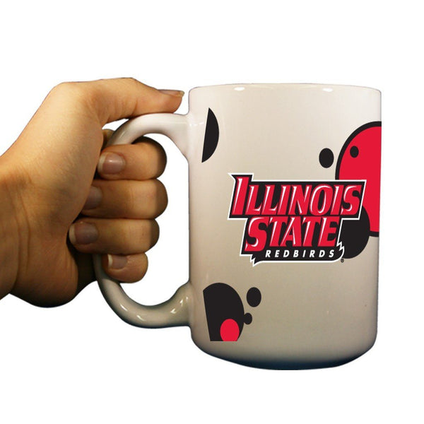 Illinois State University Circle Pattern 15oz Coffee Mug