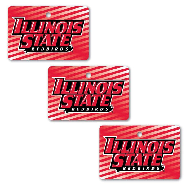 "Illinois State University Aluminum Rectangle Shaped Ornament "" Set of"