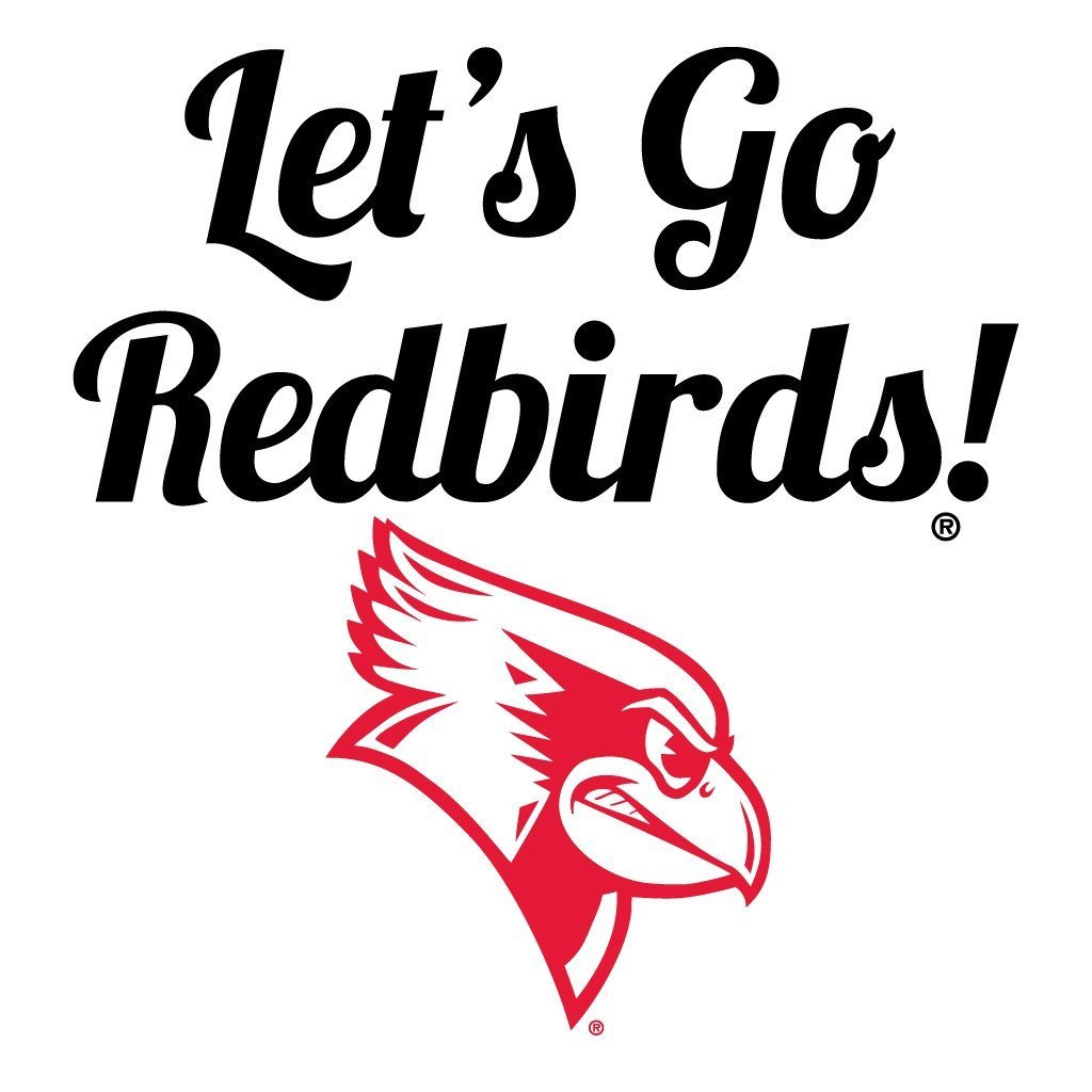 "Illinois State University œLet's Go Redbirlds! Rally Towel "" Set of 3"