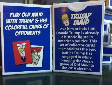 Trump Maid Card Game