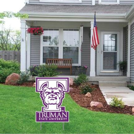 Truman State University 2'x3' Giant Valentine's Day Greeting Card Plus a Bonus Yard Sign!