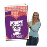 A Truman State University valentine's day card