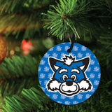 Indiana State University Ornament - Set of 3 Circle Shapes