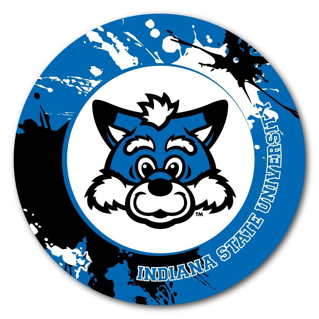 Indiana State University Fun Designs Coaster Set of 4 - FREE SHIPPING