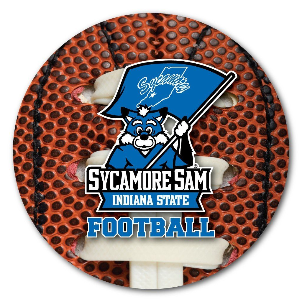 Indiana State University Football Coaster Set of 4 - FREE SHIPPING