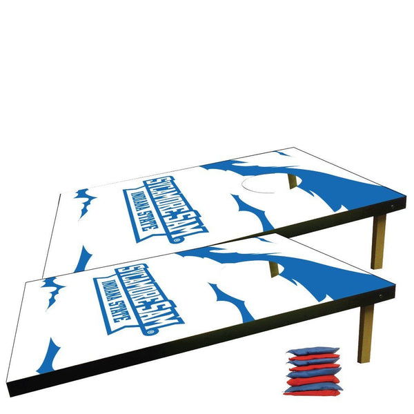 Indiana State University Corn Hole Bag Toss Game (Design 1)
