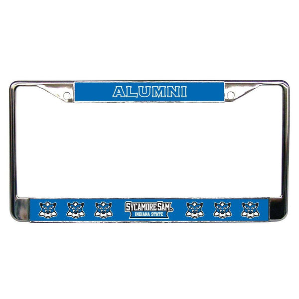 Indiana State University - License Plate Frame - Alumni