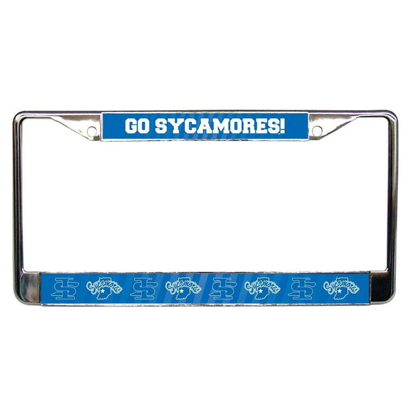 Indiana State University - License Plate Frame - Go Sycamores!