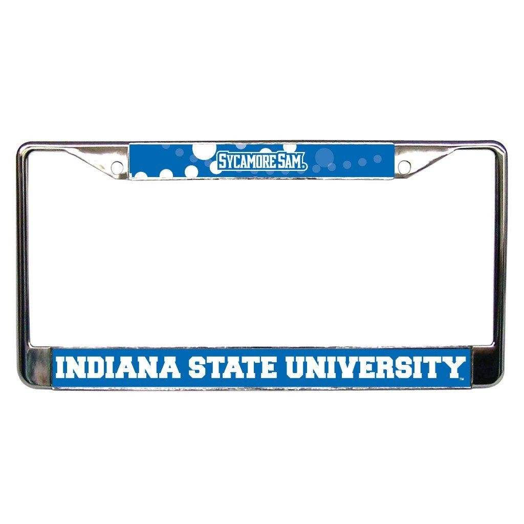 Indiana State University License Plate Frame - Indiana State FREE SHIPPING