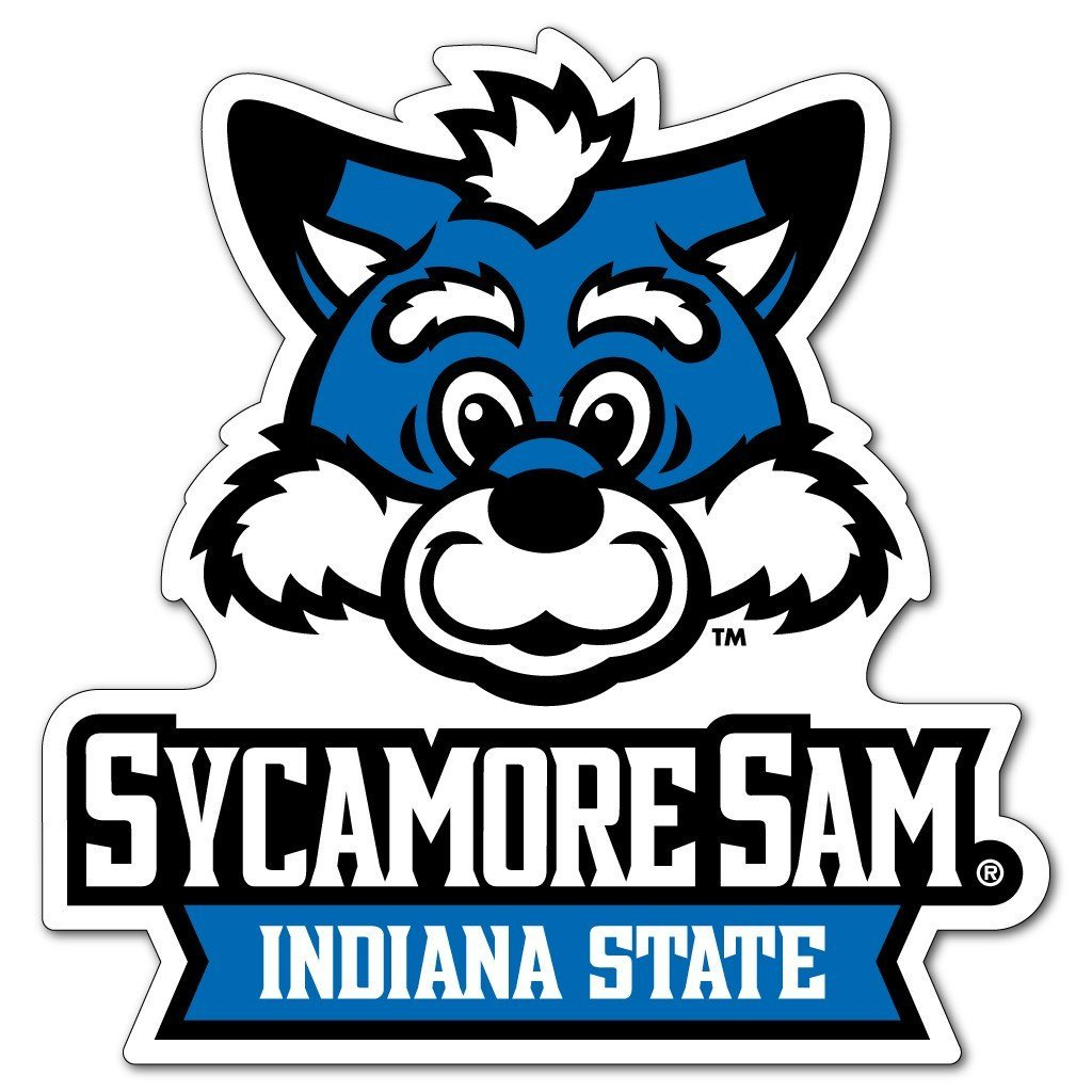 Indiana State University - Sycamore Sam Shaped Magnet