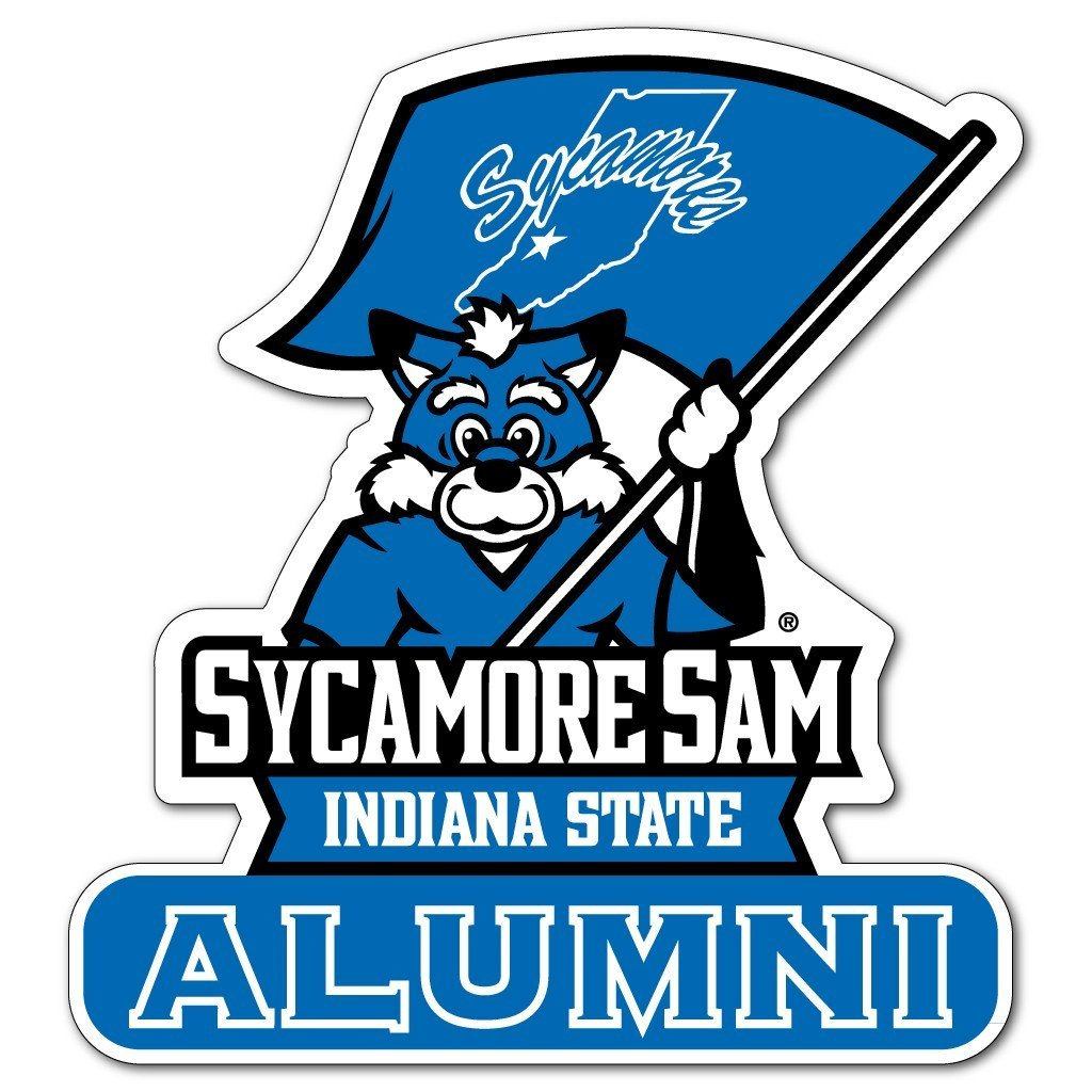 Indiana State University - Alumni Shaped Magnet