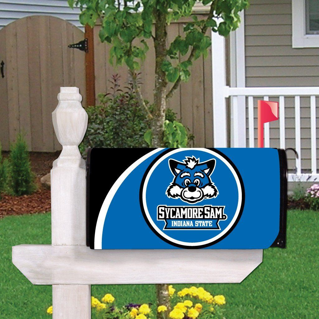Indiana State University Magnetic Mailbox Cover Design 3