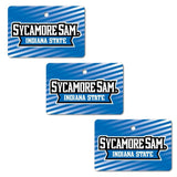 Indiana State University Ornament - Set of 3 Rectangle Shapes