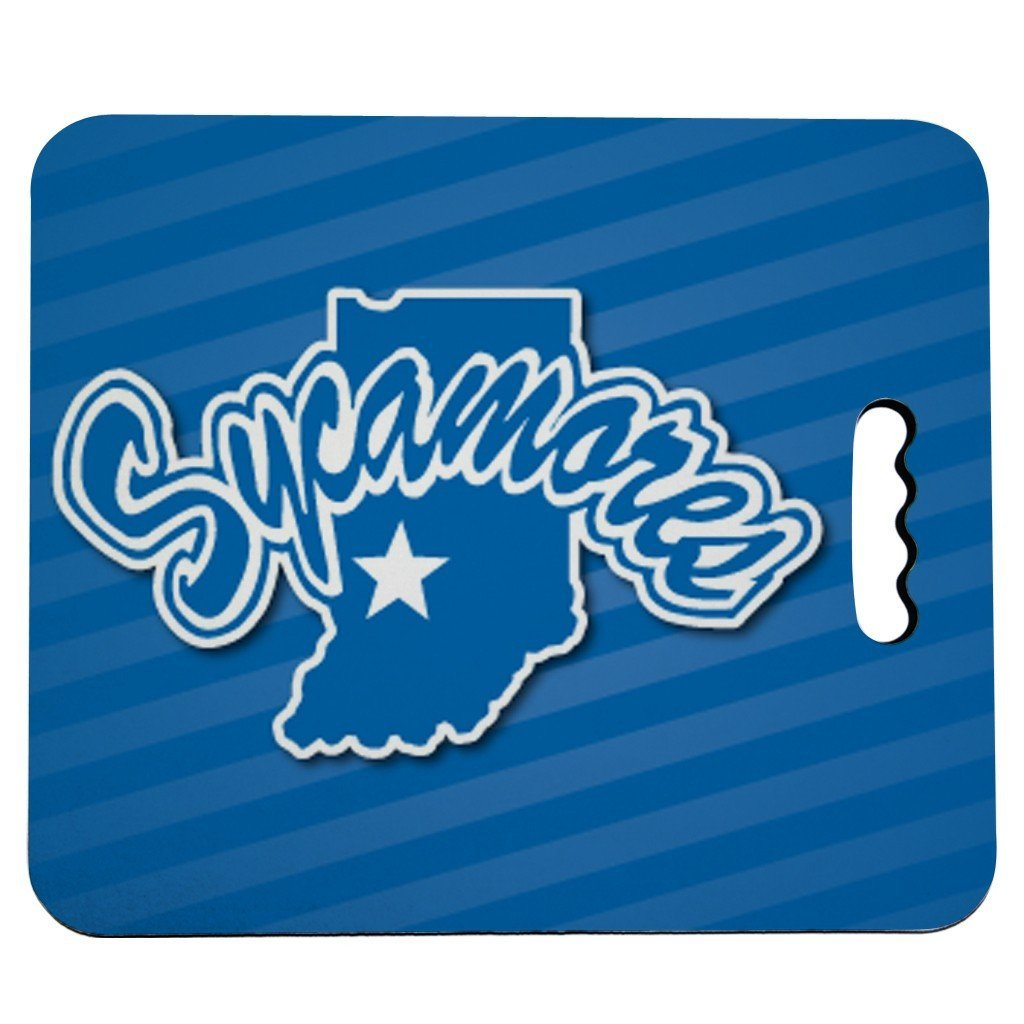 Indiana State University Stadium Seat Cushion - Sycamores Design