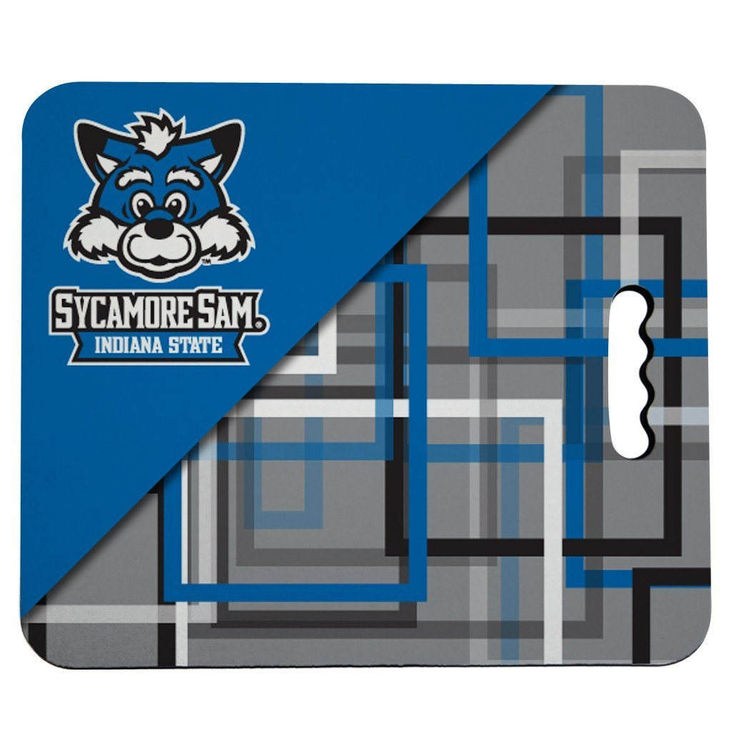 Indiana State University Stadium Seat Cushion - Squares Design