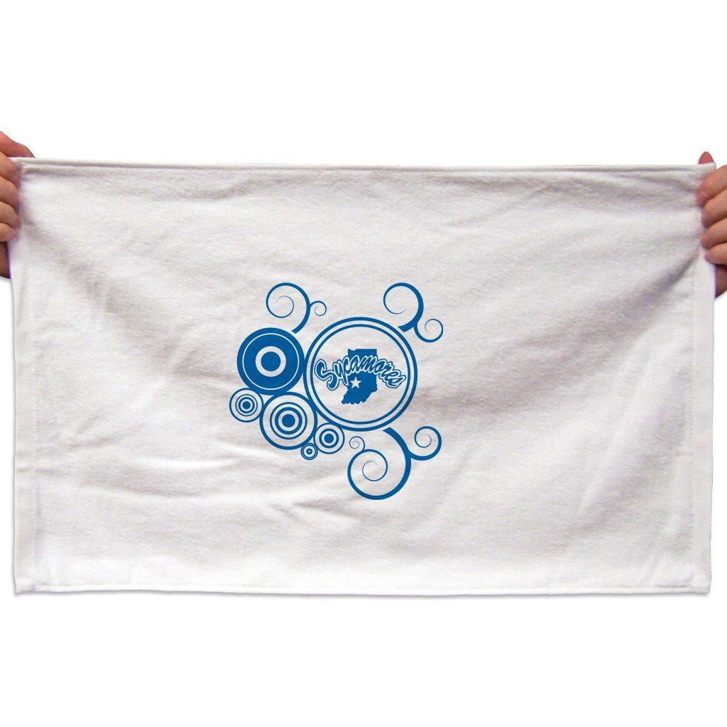 Indiana State University Rally Towel (Set of 3) - Swirl Design