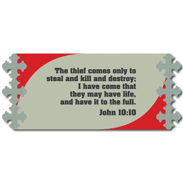 John 10:10 Religious 15oz Coffee Mug