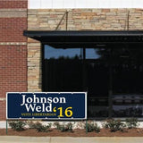 Johnson Weld 2016 2'x6' Vinyl Banner