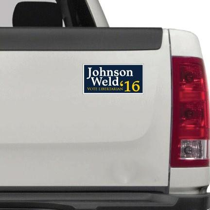"Johnson Weld 3.75"" x 9"" Bumper Magnet Pair - FREE SHIPPING"