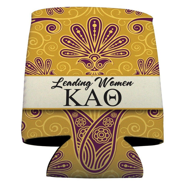 Kappa Alpha Theta Can Cooler Set of 12 - Leading Women Design