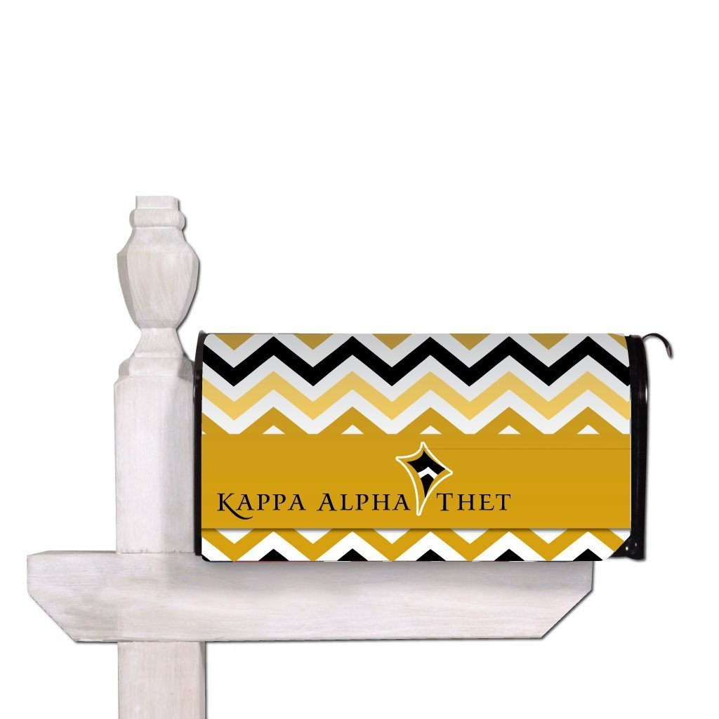 Kappa Alpha Theta Magnetic Mailbox Cover - Design 1