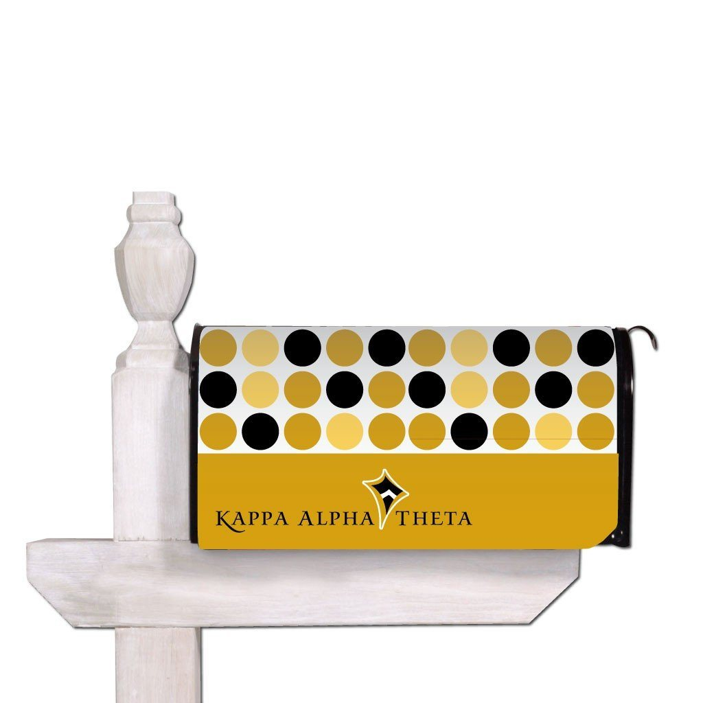 Kappa Alpha Theta Magnetic Mailbox Cover - Design 2