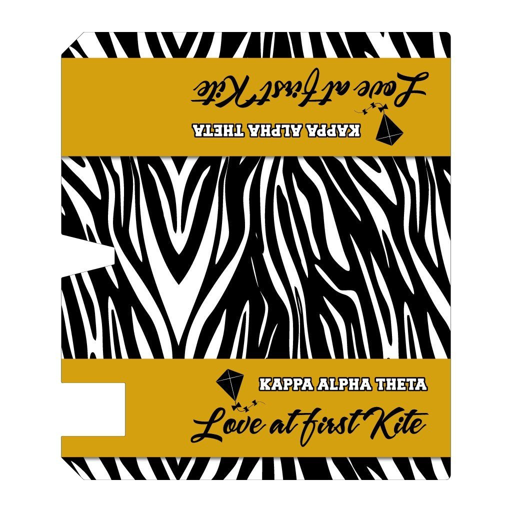 Kappa Alpha Theta Magnetic Mailbox Cover - Design 3