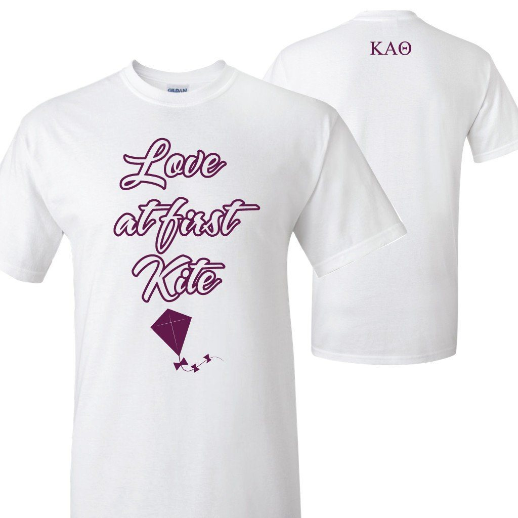 Kappa Alpha Theta Love at First Kite Standard T-Shirt - FREE SHIPPING