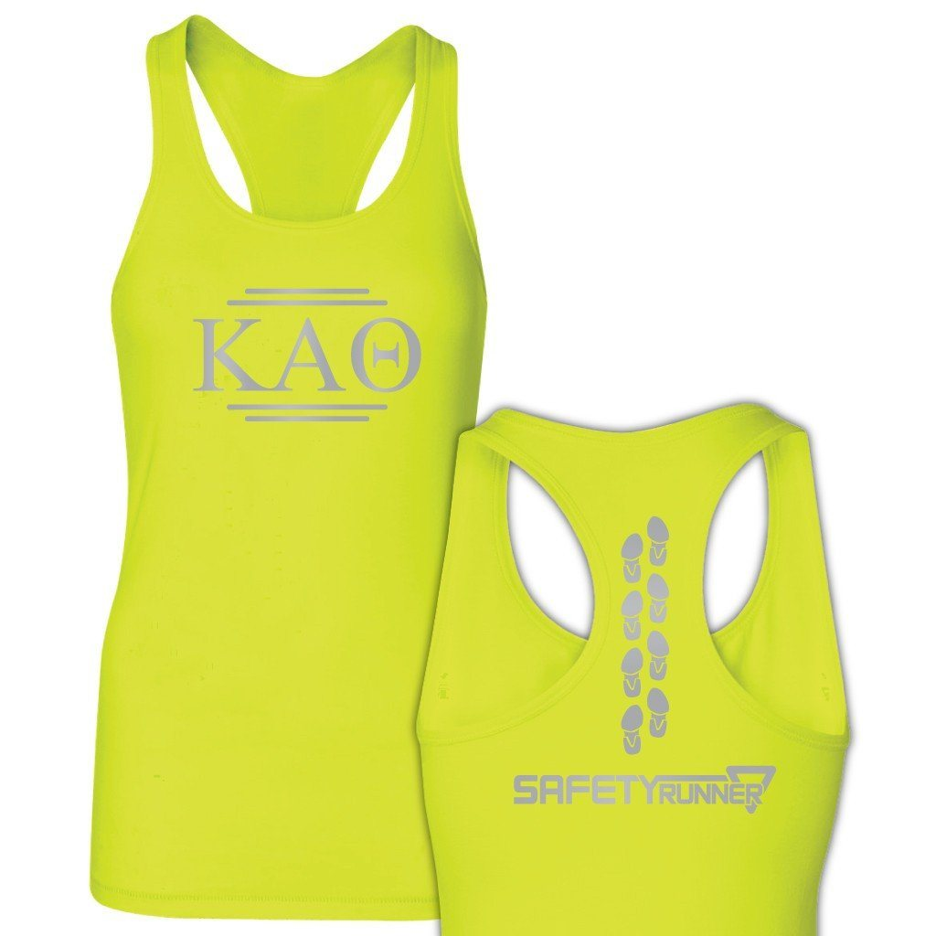 Kappa Alpha Theta Neon Yellow SafetyRunner Ladies Performance