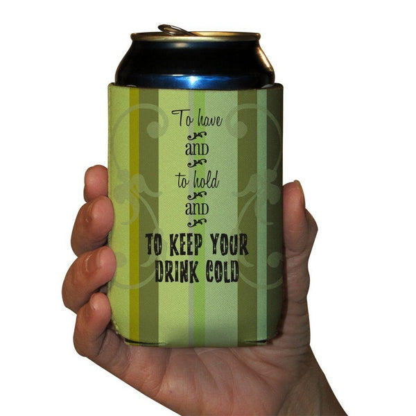a custom can cooler