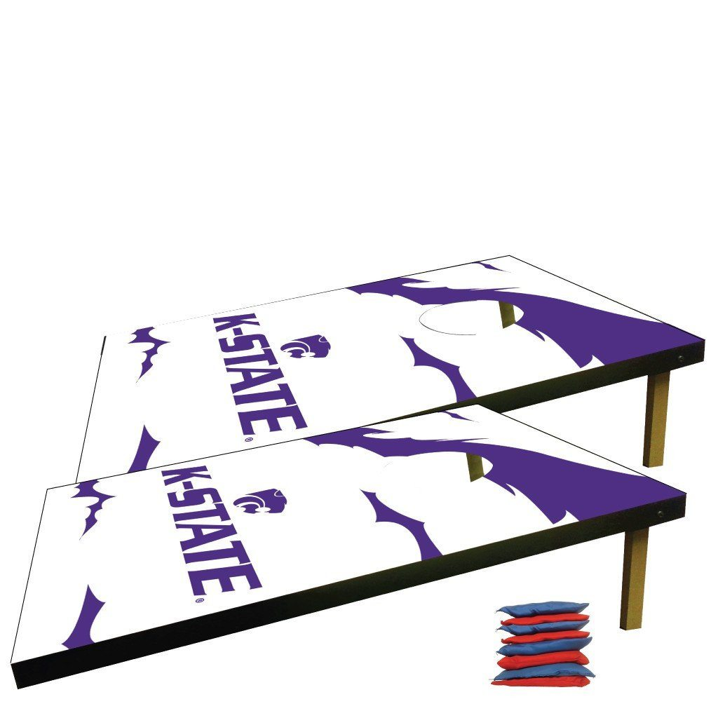 Kansas State Cornhole Bag Toss Game (Design 1)