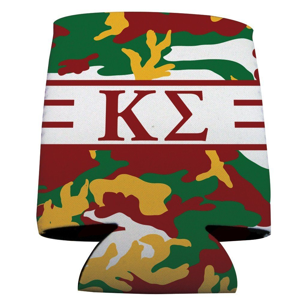 Kappa Sigma Can Cooler Set of 12 - Army Camo FREE SHIPPING