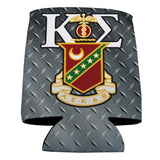 Kappa Sigma Can Cooler Set of 12 - Steel Plate Design
