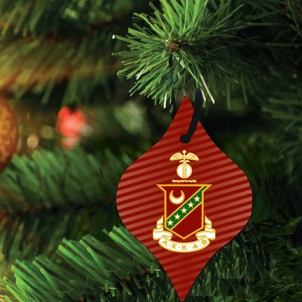 Kappa Sigma Ornament - Set of 3 Shapes - FREE SHIPPING