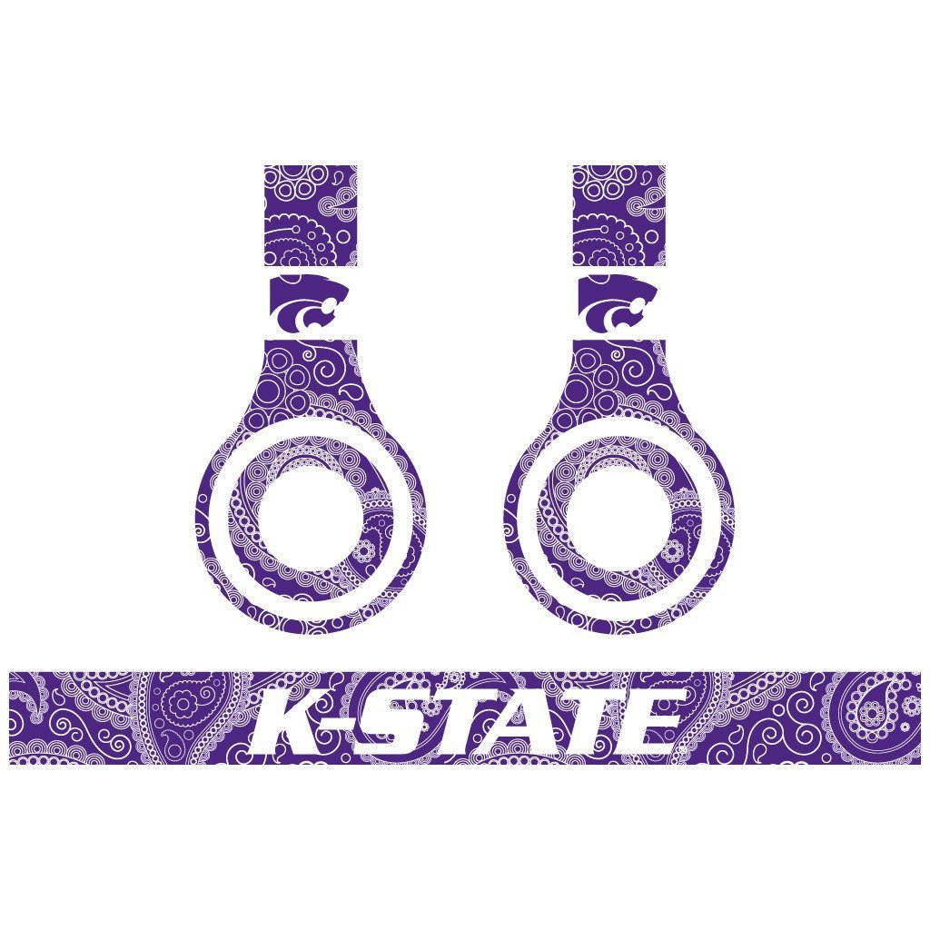 Kansas State Skins for Beat Solo HD Headphones- Set of 3 Patterns