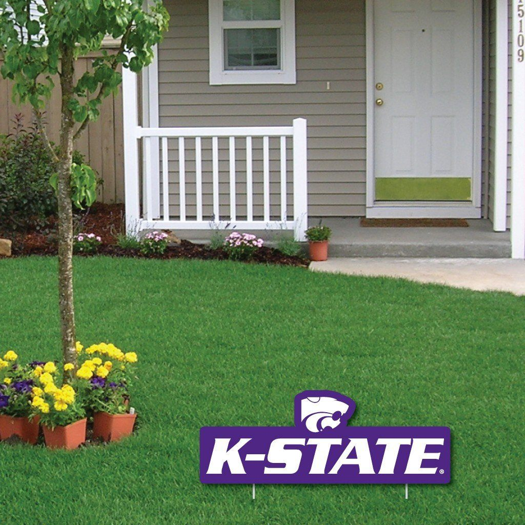 Kansas State University 2'x3' Giant Holiday Greeting Card Plus a Bonus Yard Sign! - FREE SHIPPING