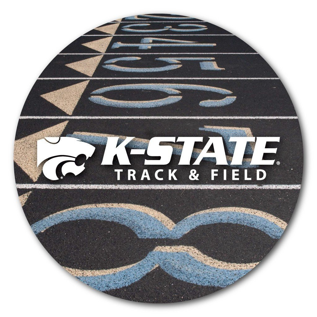 Kansas State University Coaster Set - Sports Designs - Set of 4